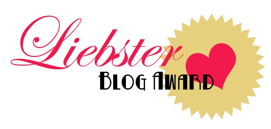 My Liebster Award nomination!